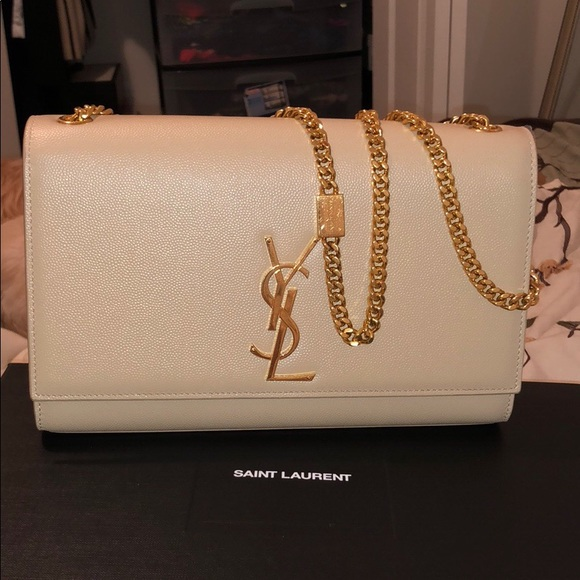 fe0e99541cc Yves Saint Laurent Bags   Ysl Medium Kate Chain Bag   Poshmark